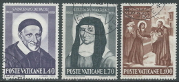 1960 VATICANO USATO SANTI - EDV7 - Oblitérés