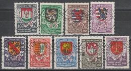 538/546 Wapenschilden/Armoiries Des 9 Provance Oblit/gestp Centrale