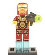 Iron Man Lego Compatible Marvel X-Men Avengers Captain America - Figures