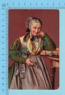 "SUISSE - Bauernfrau Aus Dem Thurgau"" ED:A.G. KILCHBERG ZURICH"" - Post Card Carte Postale Cartolina - 2 Scans - Suisse"