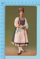"""SUISSE - Zurich Braut Aus Dem Knonaueramt"""" ED:A.G. KILCHBERG ZURICH"""" - Post Card Carte Postale Cartolina - 2 Scans - Suisse"""