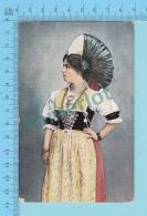 "SUISSE - Appenzellerin Festtracht "" ED:A.G. KILCHBERG ZURICH"" - Post Card Carte Postale Cartolina - 2 Scans - Suisse"