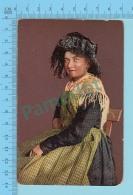 """SUISSE - Paysanne Du Canton De Fribourg """" ED:A.G. KILCHBERG ZURICH"""" - Post Card Carte Postale Cartolina - 2 Scans - Suisse"""
