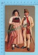 """SUISSE - Zurich Bauernpaar Aus Dem Wehntai"""" ED:A.G. KILCHBERG ZURICH"""" - Post Card Carte Postale Cartolina - 2 Scans - Suisse"""
