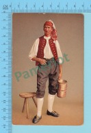 "SUISSE -Guggisberger Senn "" ED:A.G. KILCHBERG ZURICH"" - Post Card Carte Postale Cartolina - 2 Scans - Suisse"
