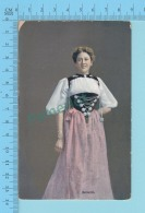 "SUISSE - Verlag Schild-Bichsel Brienz  "" Bernerin"" - Post Card Carte Postale Cartolina - 2 Scans - Suisse"