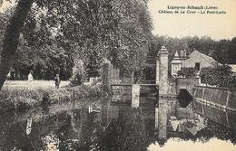 Ligny-le-Ribault (Loiret) - Château De La Cour , Le Pont-Levis - Edition Lenormand, Carte Non Circulée - France