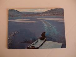 Postcard Postal Finland Kevojärven Syysjäissä - Finland
