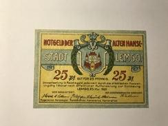 Allemagne Notgeld Lemgo 25 Pfennig NEUF - [ 3] 1918-1933 : République De Weimar
