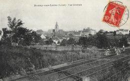 Bonny-sur-Loire (Loiret) - Vue Générale, Voie Ferrée - Carte T.D. - France