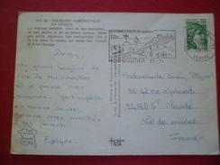 CP Adia édition Du Vieux Chouan HU.08 Folklore Humoristique En Vendée Normoutier N°1973 Le 13/7/1979 Flamme Illustrée+TB
