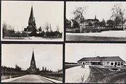 6 FOTOKAARTEN BERINGEN MIJN - Casino - Kerk - Kleuterschool - Beringen