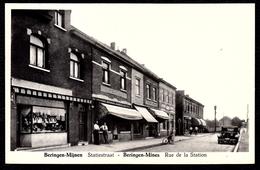 BERINGEN MIJNEN - STATIESTRAAT --- RUE DE LA STATION - Niet Courant - Beringen