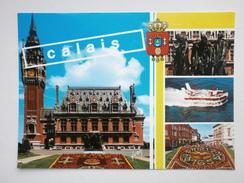 Postcard Calais Multiview My Ref B21181 - Calais