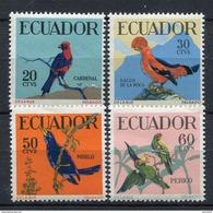 Ecuador 1958. Yvert 644-47 ** MNH. - Ecuador