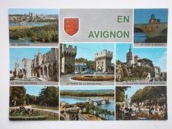 Postcard Avignon Vaucluse Multiview My Ref B21183 - Avignon