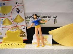MONDOSORPRESA, (SC96-FF-3-2) KINDER GRAN SORPRESA BIANCANEVE FF-3-2 + CARTINA - Maxi (Kinder-)