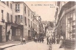 Le Pecq . Rue De Paris . - Le Pecq