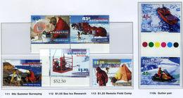 1997 - TERRITORIO ANTARTICO AUSTRALIANO - A.A.T  - Mi. Nr. 110/114 - NH - (CW2427.45) - Australian Antarctic Territory (AAT)