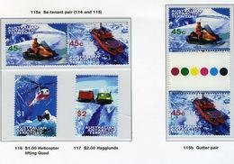 1998 - TERRITORIO ANTARTICO AUSTRALIANO - A.A.T  - Mi. Nr. 115/118 - NH - (CW2427.45) - Territoire Antarctique Australien (AAT)