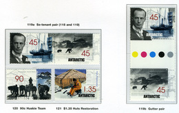 1999 - TERRITORIO ANTARTICO AUSTRALIANO - A.A.T  - Mi. Nr. 119/122 - NH - (CW2427.45) - Australian Antarctic Territory (AAT)