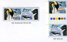 1999 - TERRITORIO ANTARTICO AUSTRALIANO - A.A.T  - Mi. Nr. 123/124 - NH - (CW2427.45) - Territoire Antarctique Australien (AAT)
