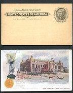 EX92a Postal Card Transmississippi Exposition 1898 ADVERTISED LOWEY NEW YORK