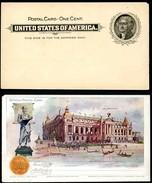 EX92a Postal Card Transmississippi Exposition 1898 Mint Cat. $100.00