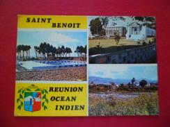 CP Adia éditions Aris Bandol C-36 - Île De La Réunion Saint- Benoit De Saint Pierre Le 13/9/1969 Avec Le N°385   B/TB - Saint Benoît