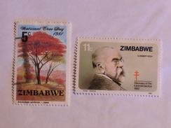 ZIMBABWE  1981-82  LOT# 2 - Zimbabwe (1980-...)