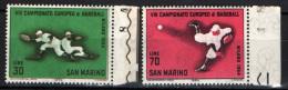 SAN MARINO - 1964 - CAMPIONATO EUIROPEO DI BASEBALL - NUOVI MNH - Ungebraucht