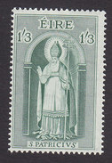 Ireland, Scott #181, Mint Hinged, St Patrick, Issued 1961 - 1949-... Republic Of Ireland