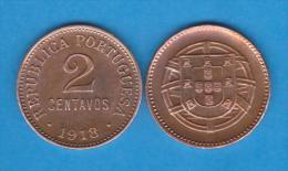 PORTUGAL  2  CENTAVOS  1.918  Bronce  KM#568   EBC/XF   T-DL-10.714 - Portugal