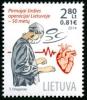Lithuania 2014 Mih. 1172 Medicine. First Open Heart Surgery MNH ** - Lituania