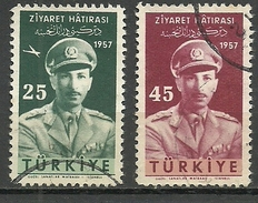 Turkey ; 1957 Visit Of The King Of Afghanistan To Turkey - Usados