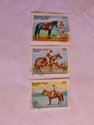BURKINA FASO  1985  LOT# 1  HORSES - Burkina Faso (1984-...)
