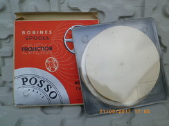 BOBINE PROJECTION CINEMA POSSO 8 Mm - 120 M - NEUVE - ETUI - BOITIER PLASTIQUE - Other Collections