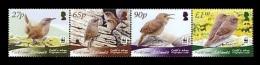 Falkland Islands 2009 Mih. 1082/85 Fauna. WWF. Birds. Cobb's Wren MNH ** - Falklandeilanden