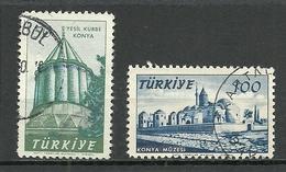 Turkey; 1957 750th Anniv. Of The Birth Of Mevlana - Usados