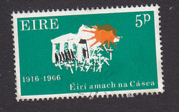 Ireland, Scott #209, Mint Hinged, Symbolical Of Lives Lost In Fight For Independence, Issued 1966 - 1949-... Republic Of Ireland