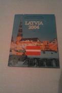 FOLDER EURO PROVA LETTONIA 2004 - Lettonia