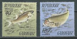 Gabon YT N°348-350 Poissons Neuf ** - Gabon (1960-...)