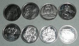 Lot De 8 Pièces Monnaie, Harry Potter, La Chambre Des Secrets, Voiture, Magicien Sorcier Poufsouffle - Zonder Classificatie