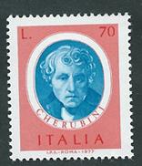 Italia,Italy 1977; L. Cherubini Compositore,composeur. Francobollo Nuovo. - Musique