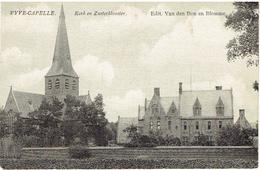 VYVE-CAPELLE - St Kruis - Damme - Kerk En Zusterklooster - Edit. Van Den Bon En Blomme - Damme