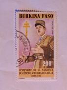 BURKINA FASO  1990  LOT# 3  GÉNÉRAL DE GAULLE - Burkina Faso (1984-...)