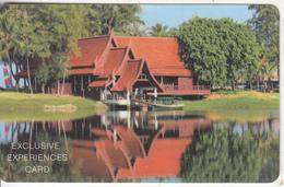 THAILAND - Sheraton Grande Laguna Phuket, Exclusive Experiences Card, Used