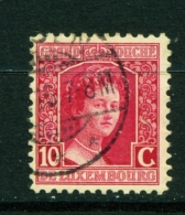 LUXEMBOURG  -  1914 To 1921  Grand Duchess Marie-Adelaide  10c  Used As Scan - 1914-24 Marie-Adelaide