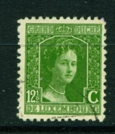 LUXEMBOURG  -  1914 To 1921  Grand Duchess Marie-Adelaide  121/2c  Used As Scan - 1914-24 Marie-Adelaide