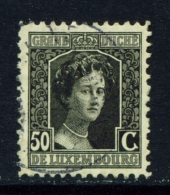 LUXEMBOURG  -  1914 To 1921  Grand Duchess Marie-Adelaide  50c  Used As Scan - 1914-24 Marie-Adelaide